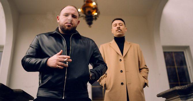 Avi i Louis Villain z platynową płytą
