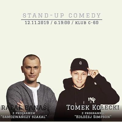 Stand-up Gorzów Wlkp. Tomek Kołecki & Rafał Banaś