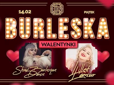 Burleska w/ Lillet L'amour | Miłość i ostrygi – Walentynki