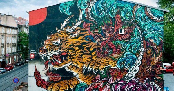 Street art ma się dobrze – w Poznaniu mamy nowy mural