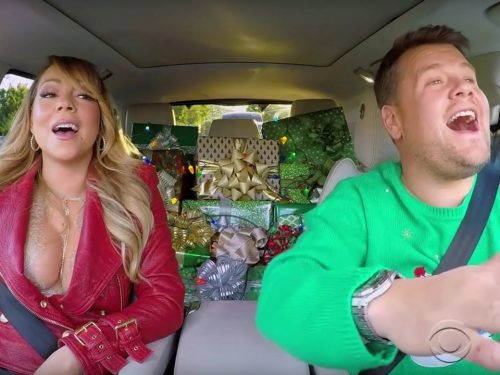 Mariah Carey, Adele i Red Hot Chili Peppers w świątecznym Carpool Karaoke!