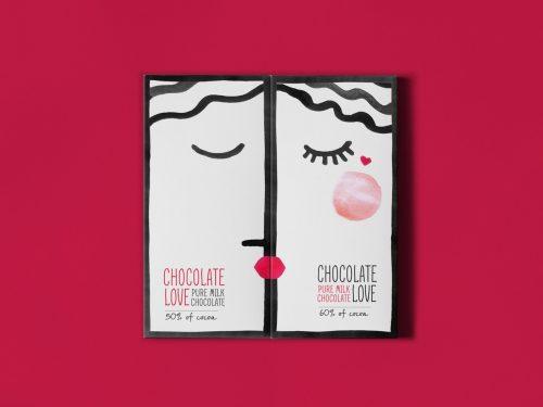 Zobacz artystyczny projekt z udziałem czekolady!