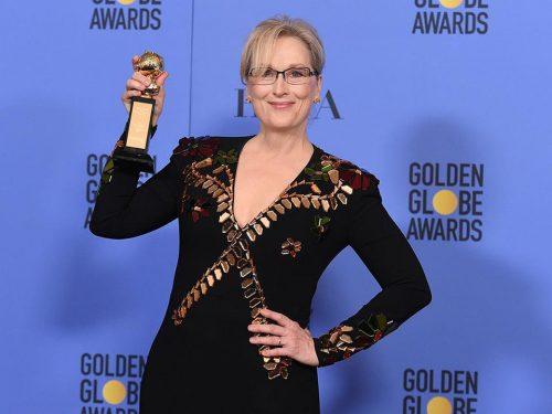 Meryl Streep swoją przemową skradła Złote Globy