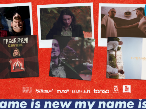 Premiery trzech albumów od My Name Is New Label – Tacher, Caville i Funkasanki