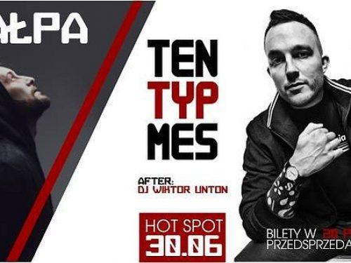 Podwójna dawka hip hopu w Wrocławiu! Ten Typ Mes i Małpa wystąpią na scenie HotSpotu.