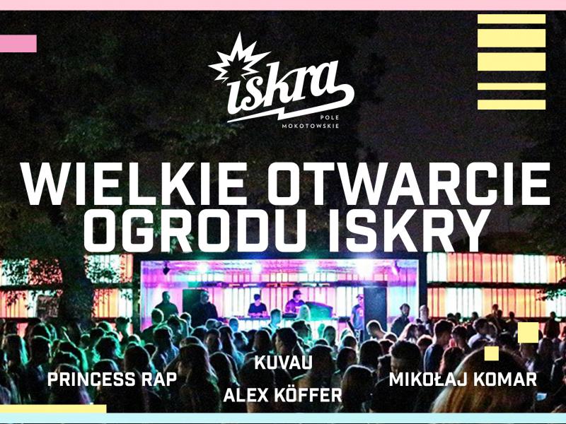 Klub Iskra Pole Mokotowskie rozpoczyna sezon letni! Wielkie otwarcie ogrodu już 19 maja!