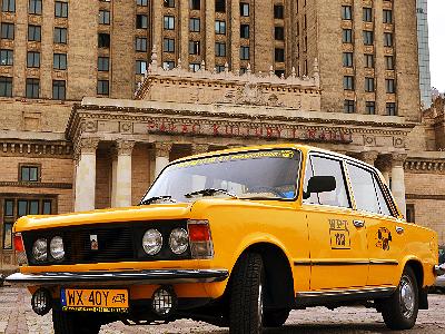 Dużym Fiatem po Warszawie | 05.07