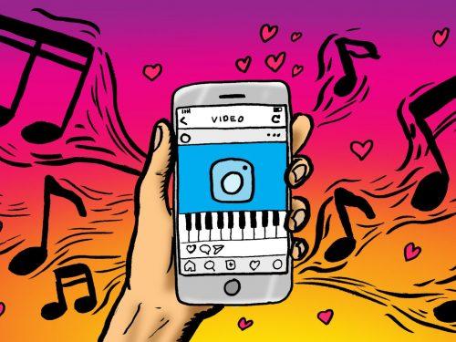 Nowa funkcja na Instagramie – dodaj tekst piosenki do swojej relacji
