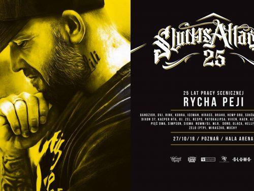 25 LAT PEJA/SLUMS ATTACK – wiemy, kto wystąpi z raperem na jubileuszowym koncercie!