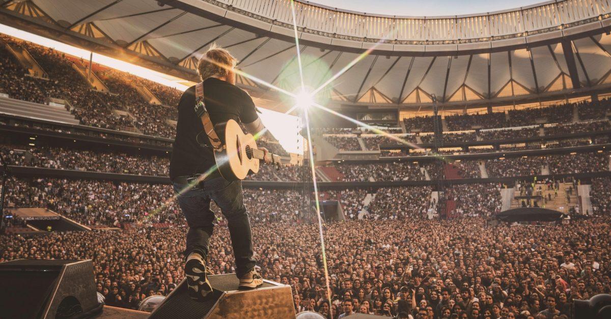 Ed Sheeran wraca z koncertem na PGE Stadion Narodowy