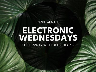 15.05 Electronic Wednesdays – House & Hip Hop | Free Party