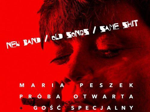 Maria Peszek wraca na scenę i zapowiada specjalny koncert