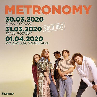 Metronomy / Poznań – II termin