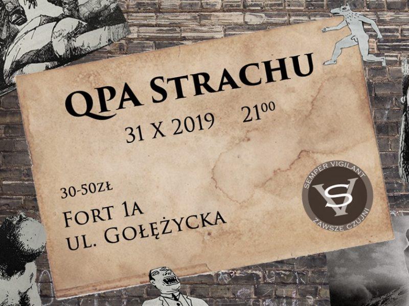 Qpa Strachu – wyjątkowa impreza na Halloween w Poznaniu