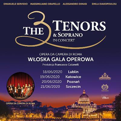 The 3 Tenors & Soprano | Lublin