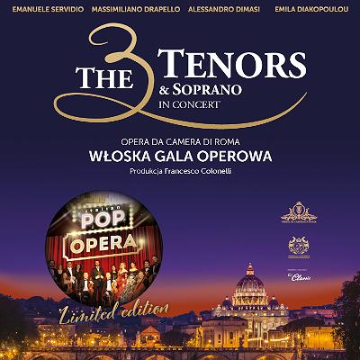 The 3 Tenors & Soprano – POP OPERA ITALY | WARSZAWA