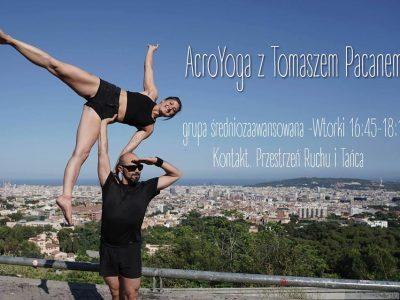Acro Yoga gr. średnio zaawansowana – Tomasz Pacan