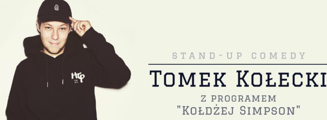 """Tomek Kołecki zaprasza na swój stand-up """"Kołdżej Simpson"""""""