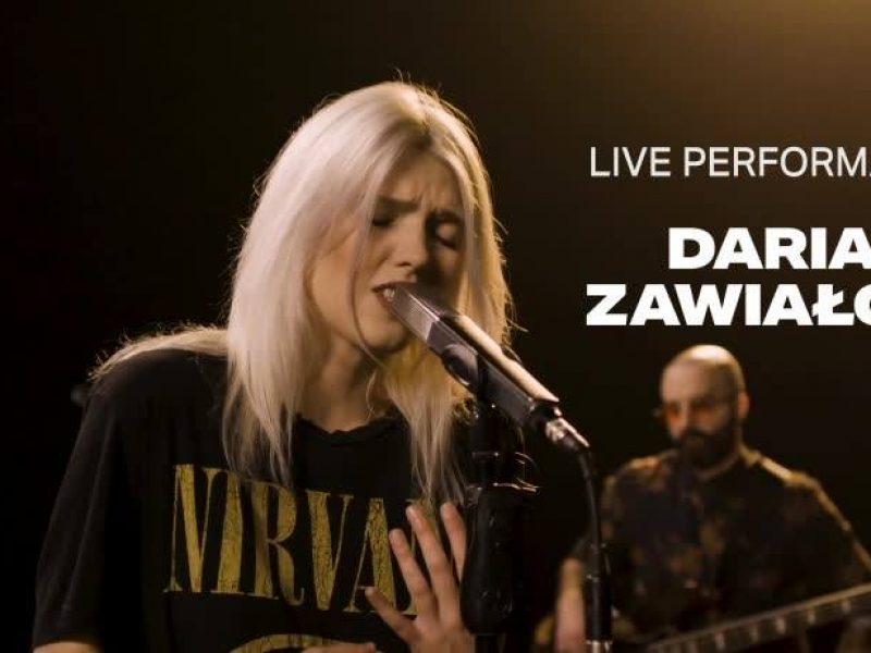 Daria Zawiałow w live sesji VEVO