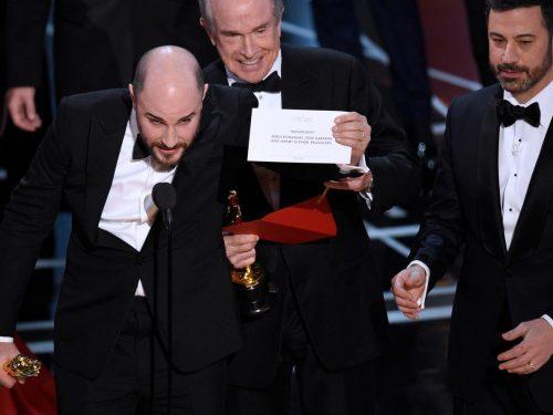 Oscary 2017 pod znakiem wielkiej wpadki w najważniejszej kategorii