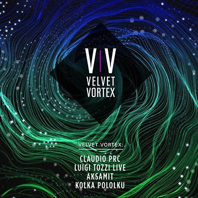 Velvet Vortex: Claudio PRC, Luigi Tozzi LIVE