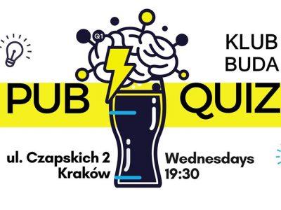 Pub Quiz in English @Klub BUDA