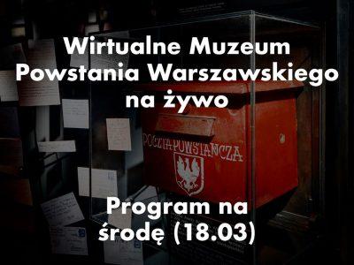 Wirtualne Muzeum Powstania Warszawskiego NA ŻYWO