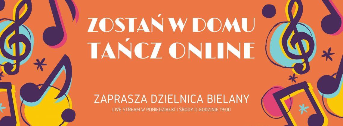 Zostań w domu – Tańcz Online