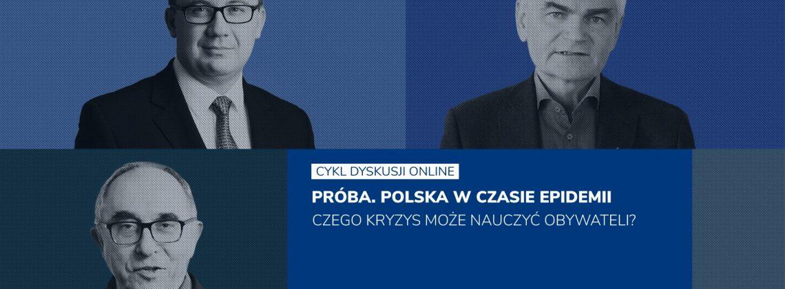 Próba. Polska w czasie epidemii – cykl spotkań on-line