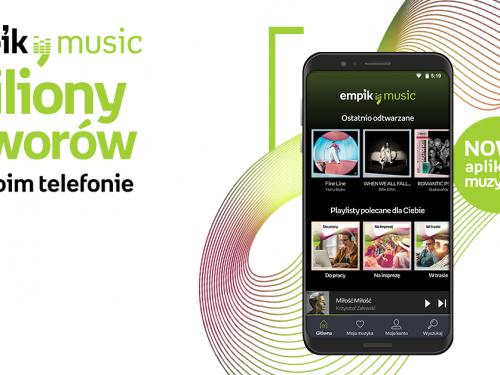 Nowy serwis do streamingu muzyki od Empiku