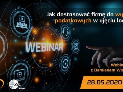 Webinaria GS1 Polska z Damianem Wiszowatym