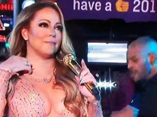 Sylwestrowa wtopa Mariah Carey na Times Square