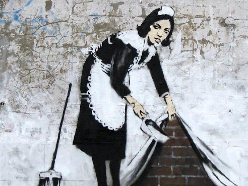 Prace Banksy'ego w Polsce!