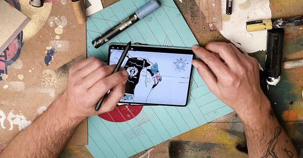 Jak narysowaliśmy nową stronę Rytmy.pl wraz z Samsung Galaxy Z Fold3 5G