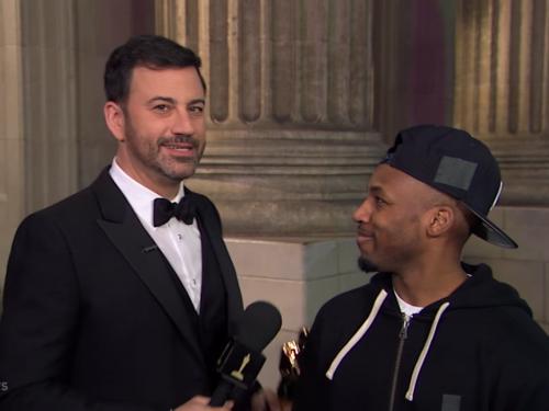 Jimmy Kimmel na gali Oscarów 2017