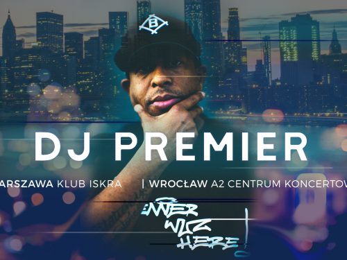 Legenda hip-hopu powraca do Polski! DJ PREMIER w lipcu zagra dwa koncerty.