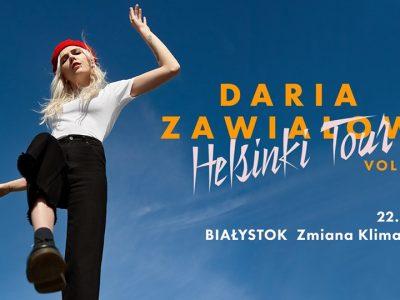 Daria Zawiałow | Helsinki Tour vol2 – Białystok 22.11