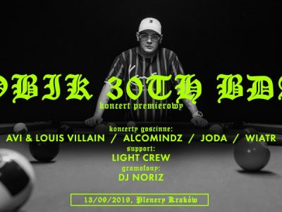Kobik 30th B-Day | Avi x Louis Villain x Alcomindz x Joda