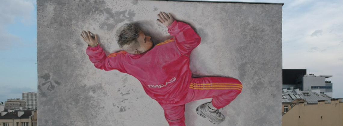 Kubi Producent z własnym muralem w Warszawie
