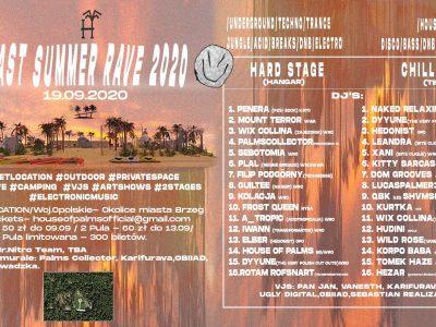 Last Summer Rave 2020 / secret location