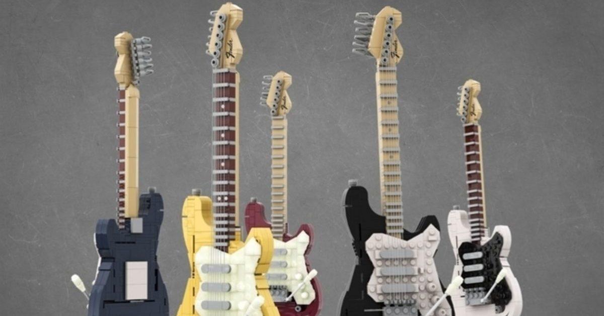 LEGO wypuści zestaw klocków Fender Stratocaster