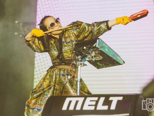 Florence, Tyler, The Creator, Mura Masa i The XX na pięknych zdjęciach z MELT! Festival 2018