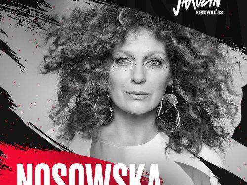 Kasia Nosowska na Jarocin Festival 2018 zaśpiewa kawałki z nowej płyty!
