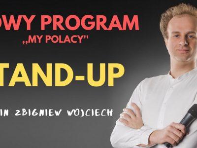 Nowy program Marcin Zbigniew Wojciech Stand-up w Łodzi