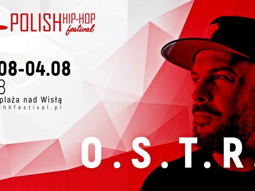 Polish Hip Hop Festival 2018 – kolejni raperzy dołączają do line up'u. Wśród nich O.S.T.R.!