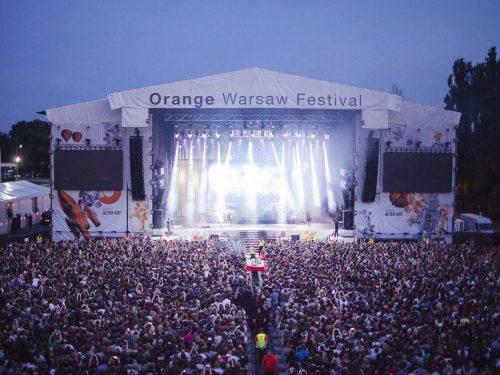 Polscy przedstawiciele na Orange Warsaw Festival
