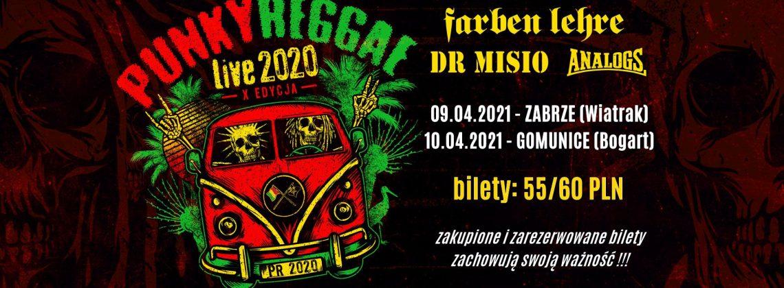 PUNKY REGGAE live 2020 – Zabrze