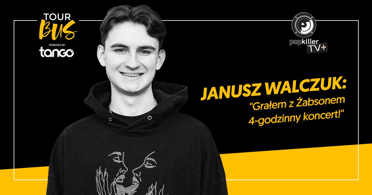 """Janusz Walczuk zalicza """"Offside"""" oraz gości w TourBusie Popkillera"""