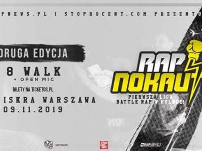Rapnokaut 2 09.11 Klub Iskra Wwa + Afterparty z Winim!