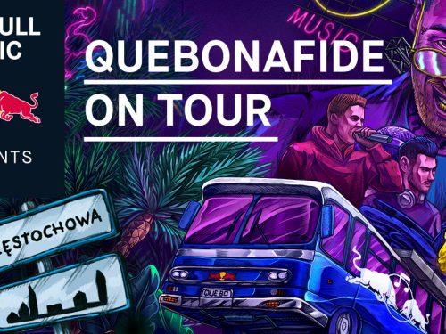 Quebonafide przyjedzie busem Red Bulla do Częstochowy. Fani rapera wywalczyli koncert w swoim mieście!